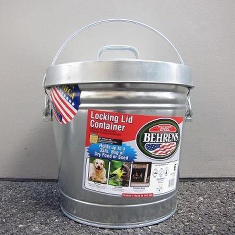 BEHRENS / 6 Gallon Locking Lid Container