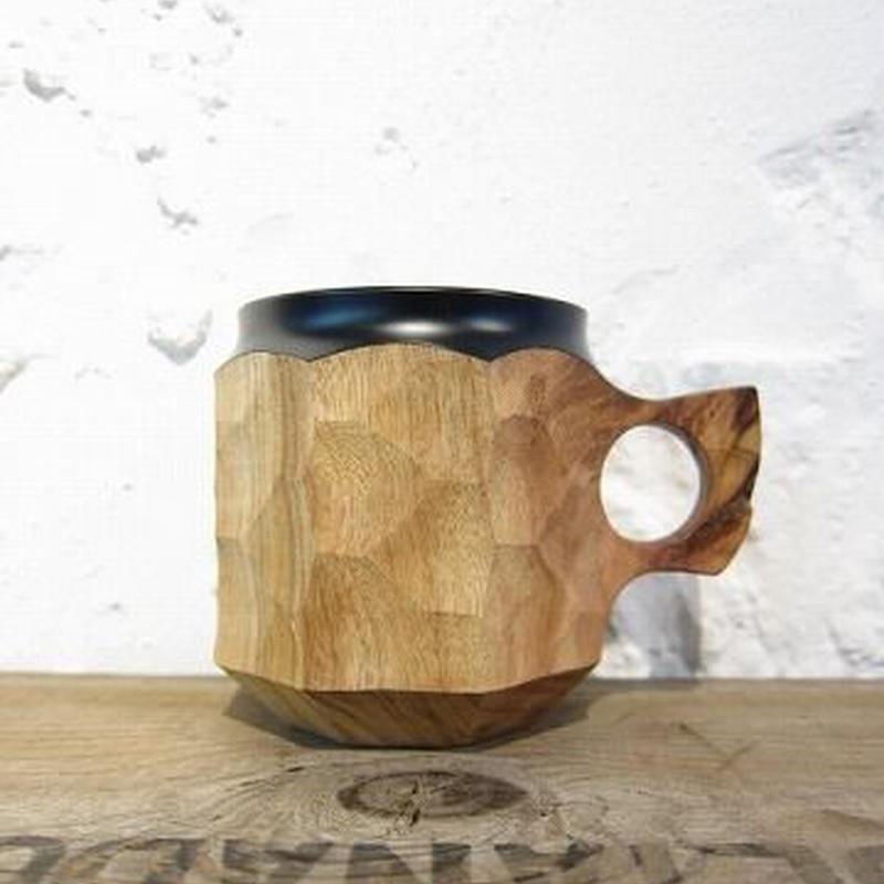 Akihiro Woodworks / JIN CUP-Urushi / BLACK / M