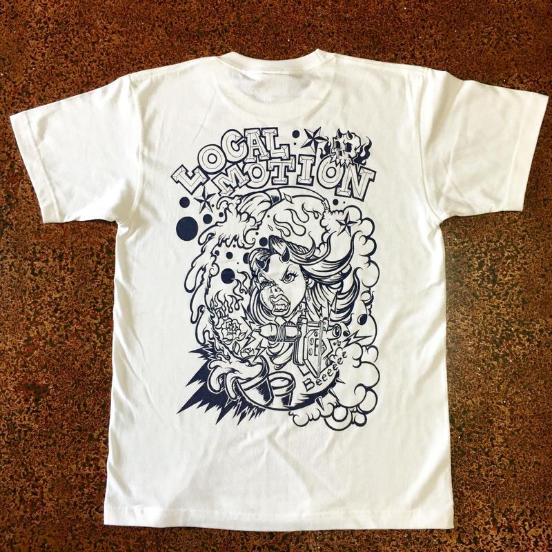 LOCAL MOTION T-shirt  White