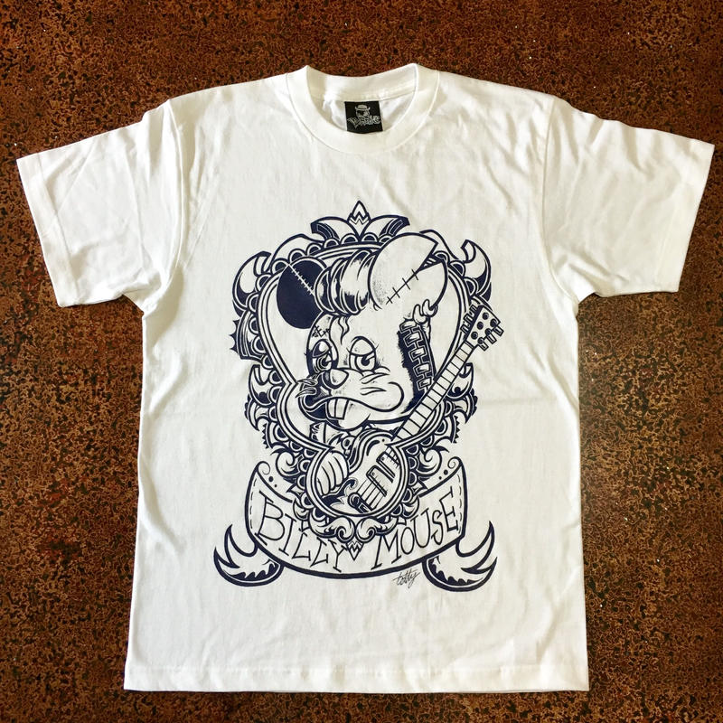 BILLY MOUSE T-shirt  White