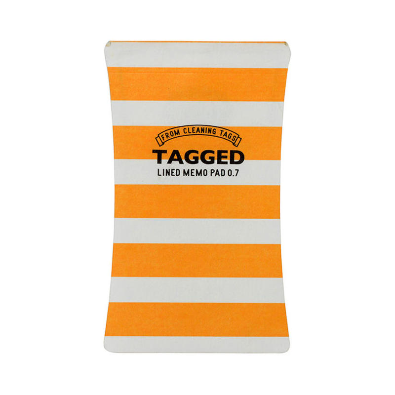 TAGGED MEMO PAD ボーダー03(S)