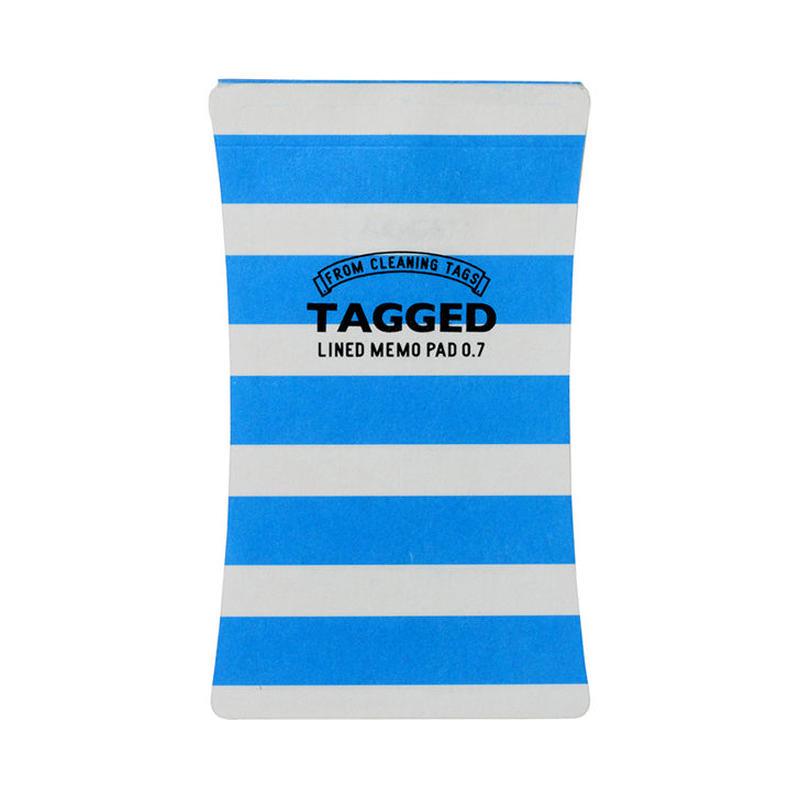 TAGGED MEMO PAD ボーダー01(S)