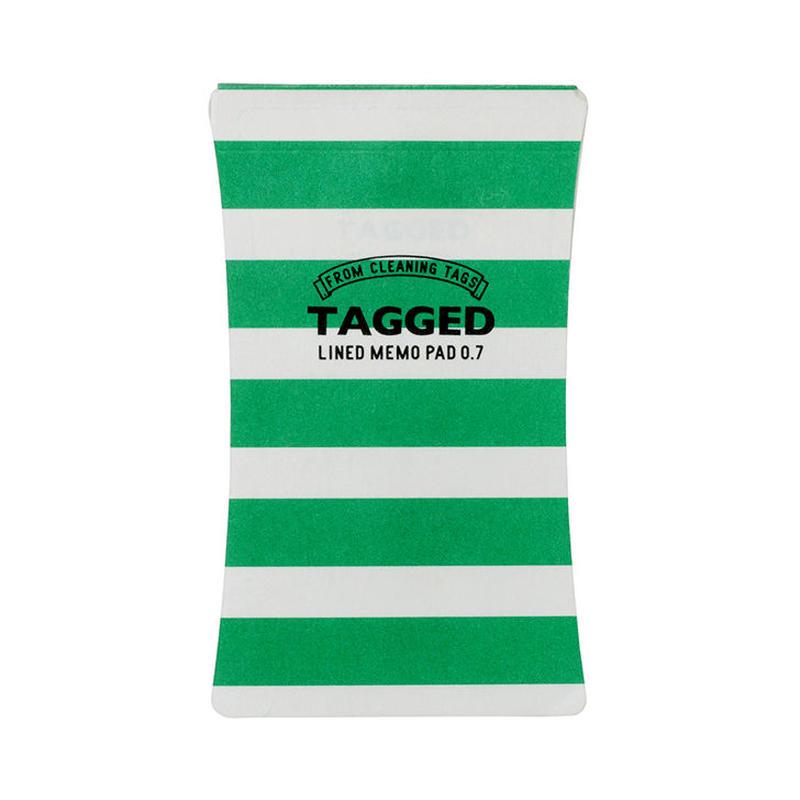 TAGGED MEMO PAD ボーダー04(S)