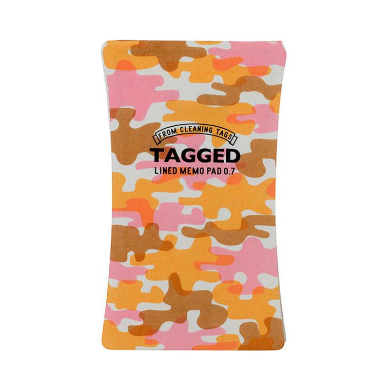 TAGGED MEMO PAD 迷彩03(S)