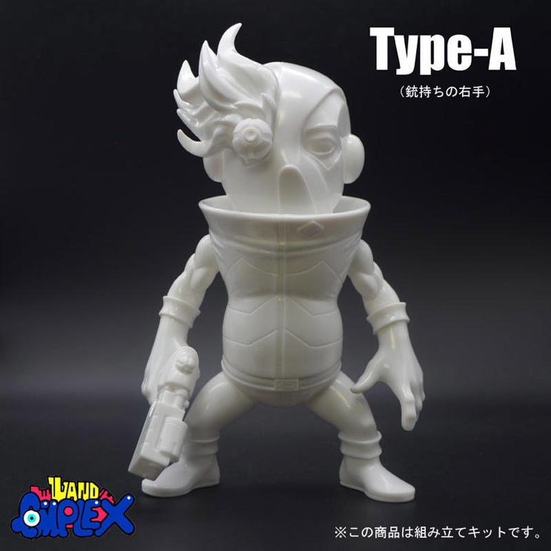 「SHOCK-EYE」(無彩色ソフビキット)Type-A