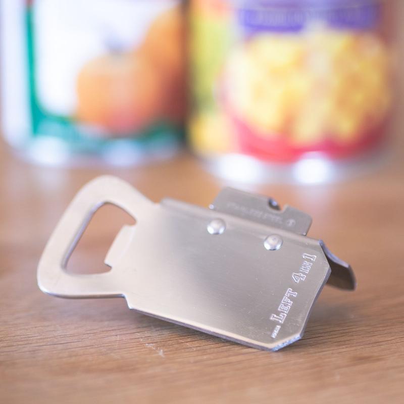 缶切り「レフトフォー」・左手用(左利き用)