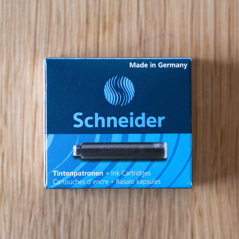 Schneider カートリッジインク(ブラック・6本入)