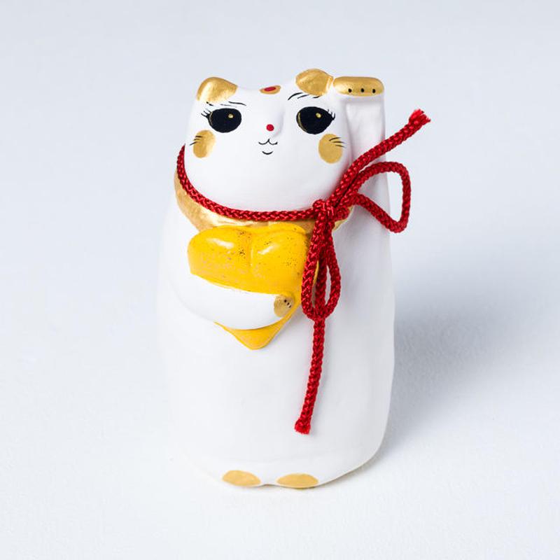 良縁猫(黄) - Ryo en neko
