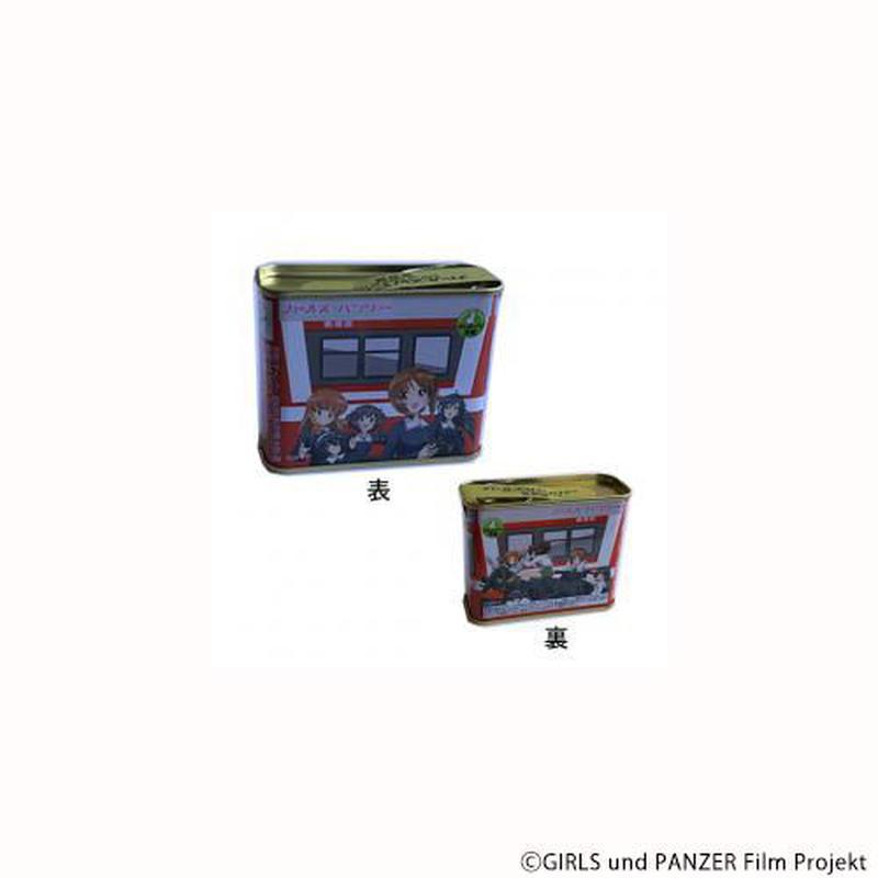 (ガールズ&パンツァー)ガルパン列車型ミニ缶ドロップ