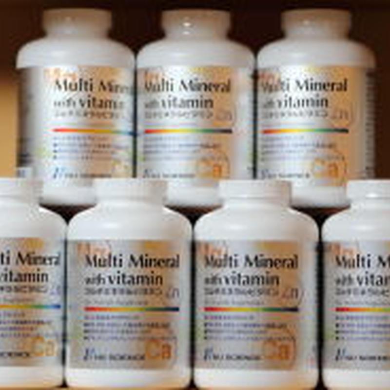 マルチミネラルビタミン6個まとめてご注文