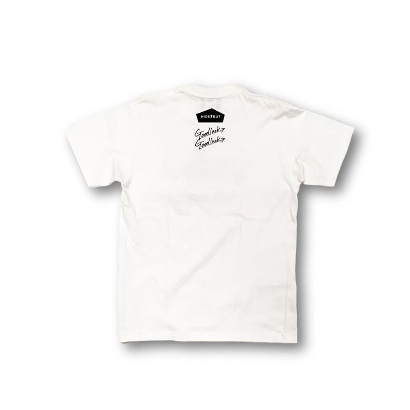 2ポイントプリントT「logo vol.2」 white / s / m / l / xl