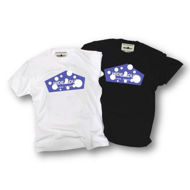 「DOT LOGO」Tシャツ/UNISEX/WM/S/M/L/XL