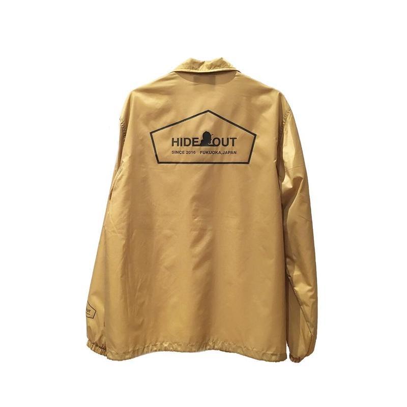 コーチジャケット「logo」beige / s / m / l