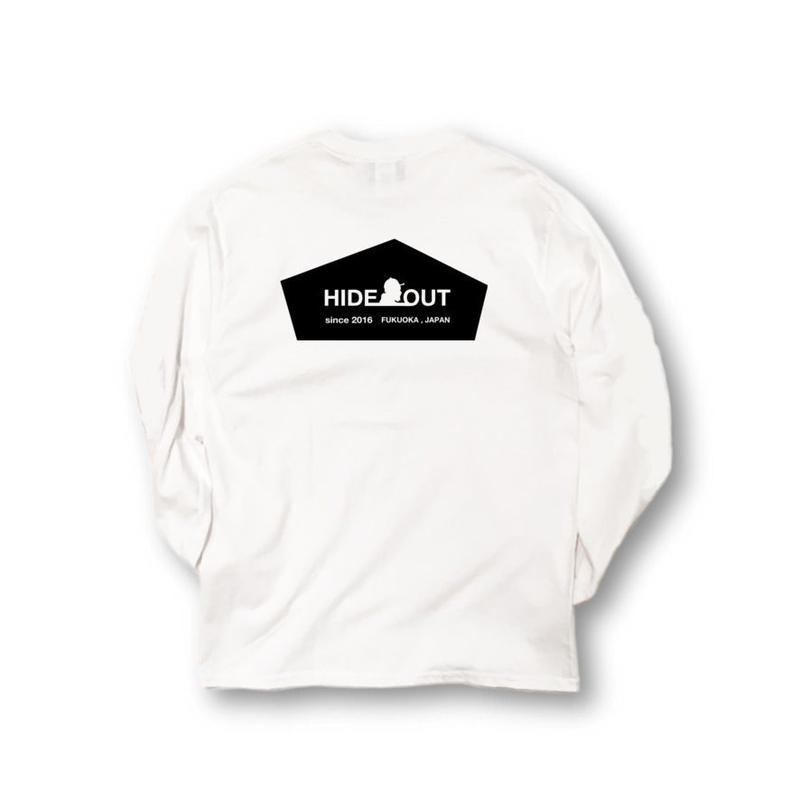 ロンT「LOGO」WHITE/M/L/