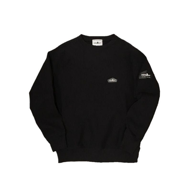 スウェットシャツ No.2 BLACK/L/XL