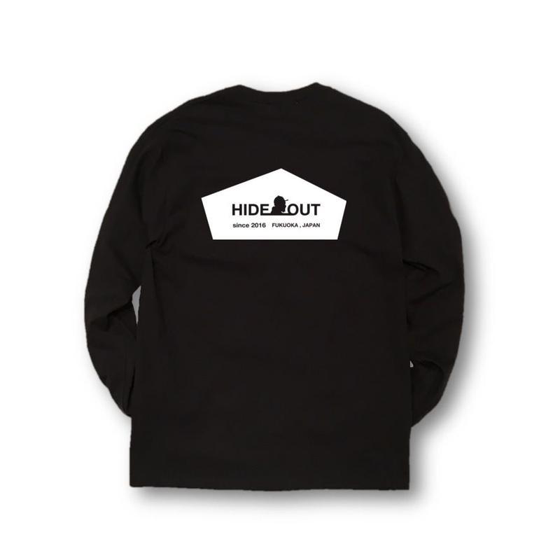 ロンT「LOGO」BLACK/M/L/