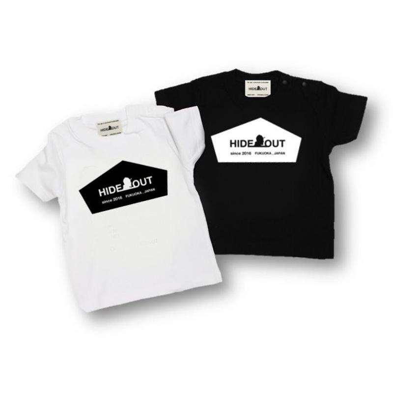 「HIDEOUT LOGO」Tシャツ/KIDS/90/100