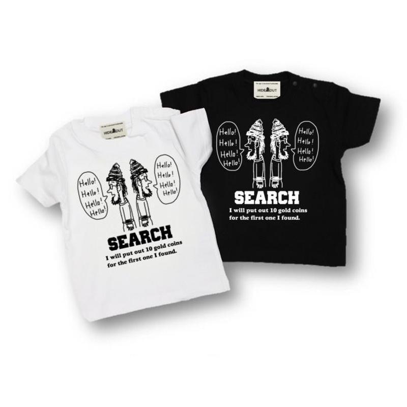 「SEARCH」Tシャツ/KIDS/90/100