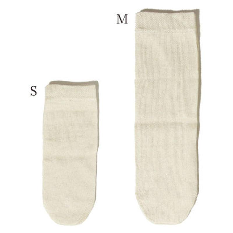 乳幼児〜子供用コットン先丸靴下M