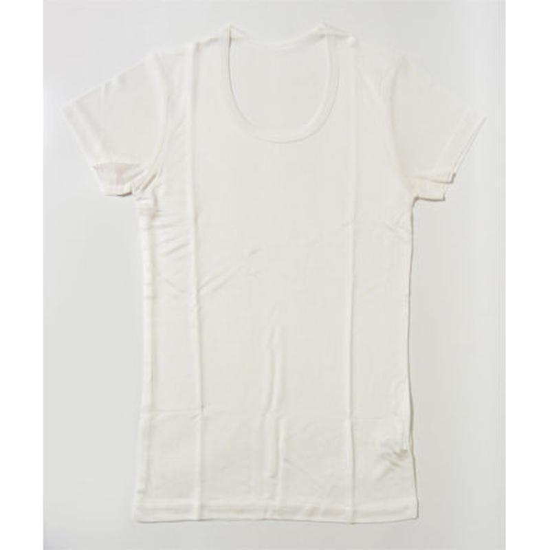 シルク子供用男女兼用半袖シャツ