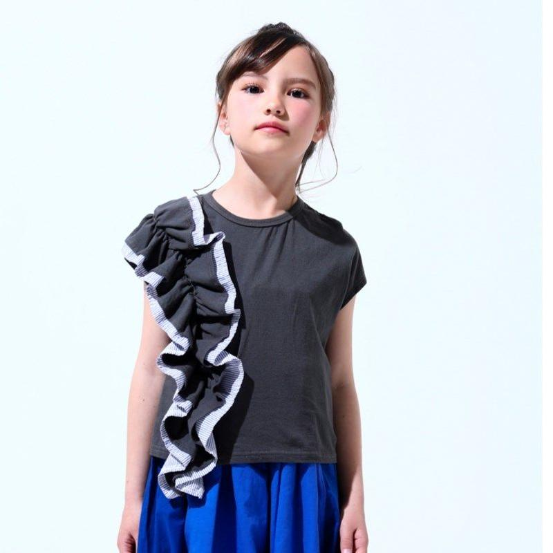 ruffle short sleeve (100cm~120cm)