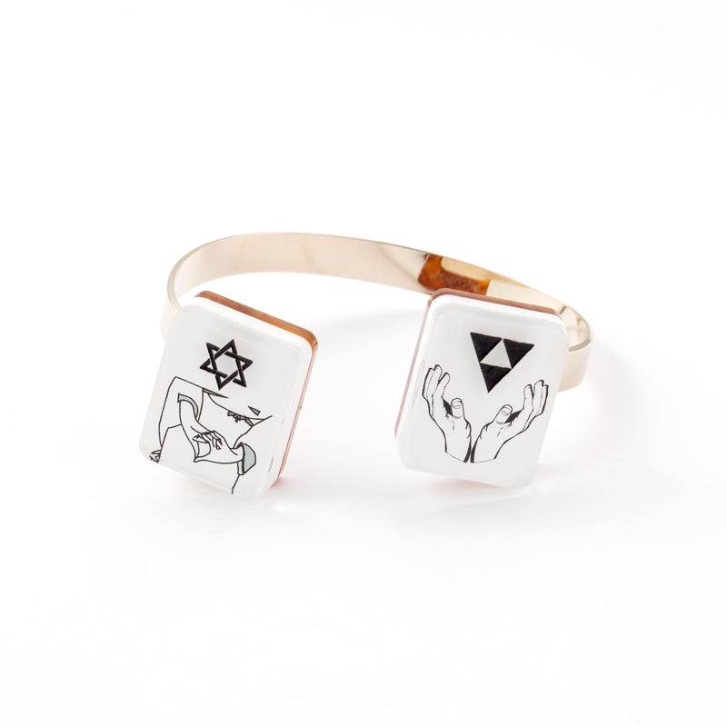 YUMEJI BANGLE(HEXAGRAM×GASKET)