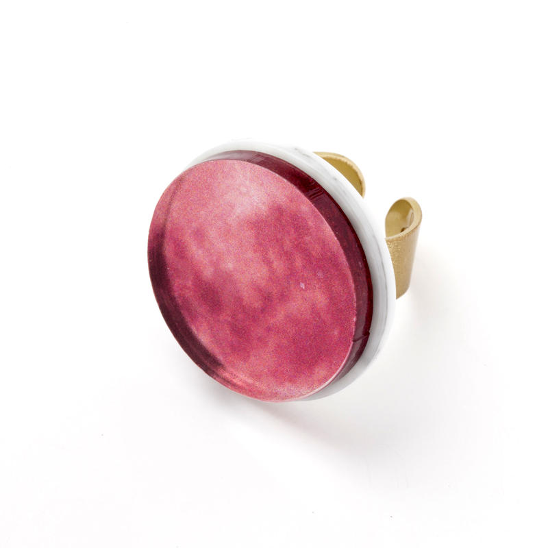 Full Moon Ring (Red)