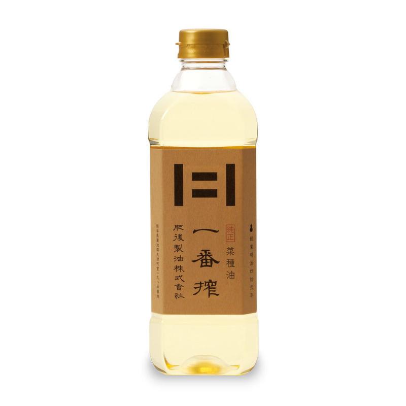 純正 菜種油一番搾(600g)