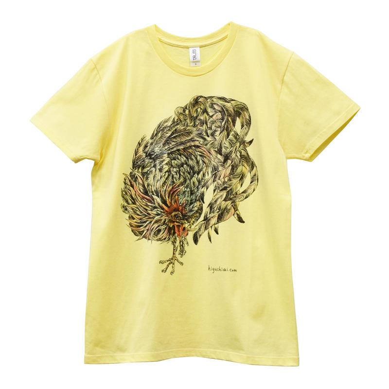 にわとりTシャツ/Yellow