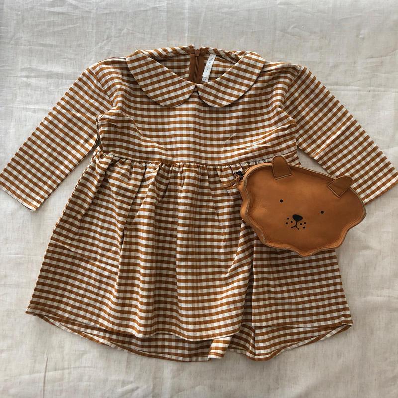 Rylee&Cru / Collared Dress - Gingham