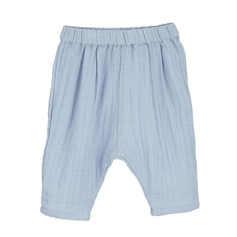 Serendipity Organics / Baby Muslin Pants - Steel Blue