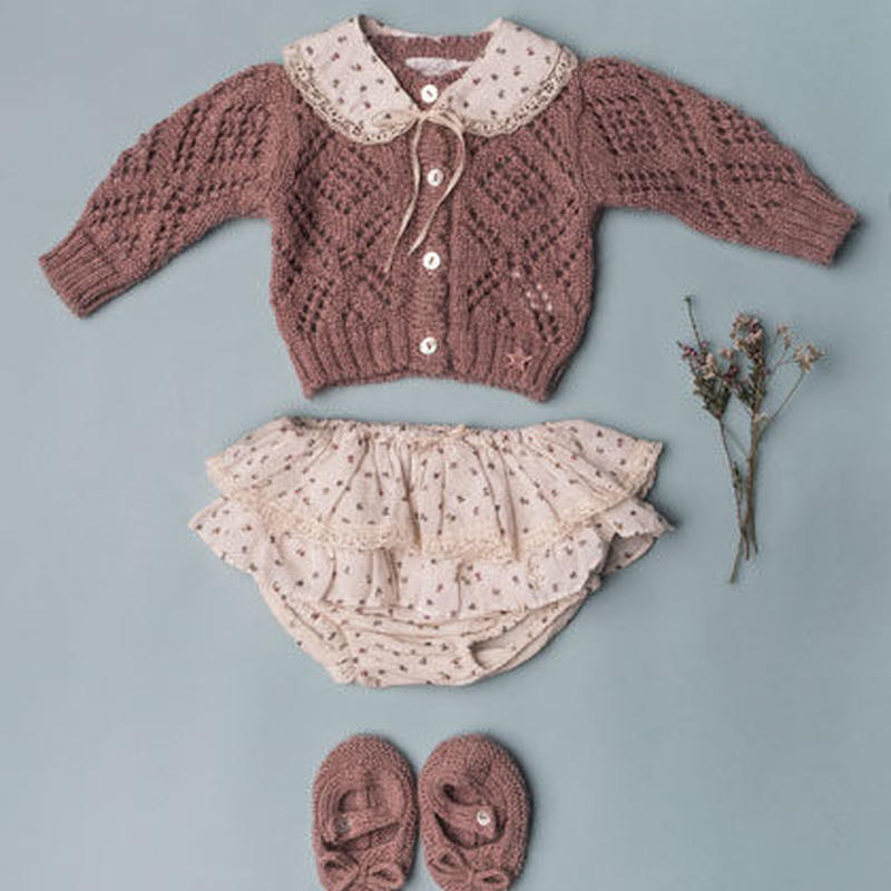tocoto vintage / FLOWERS COLLAR