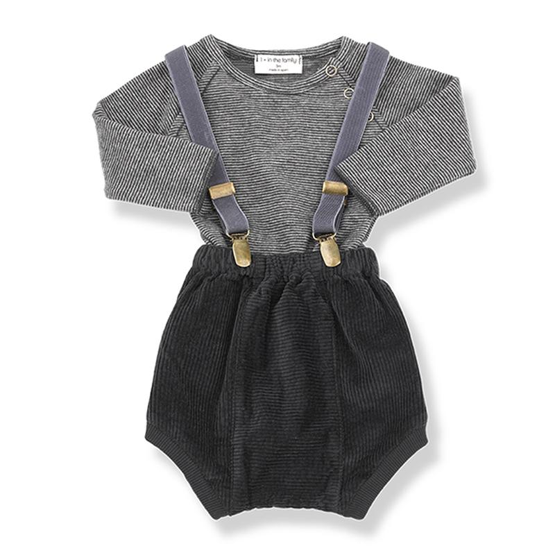 1+in the family / KOLDO suspenders - grey