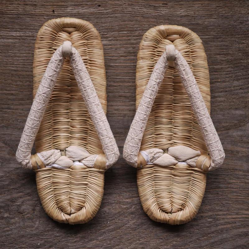 おえ草履(柿渋) Oe-zori sandals M