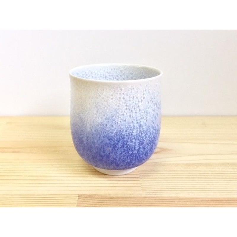藍染水滴湯呑(小)