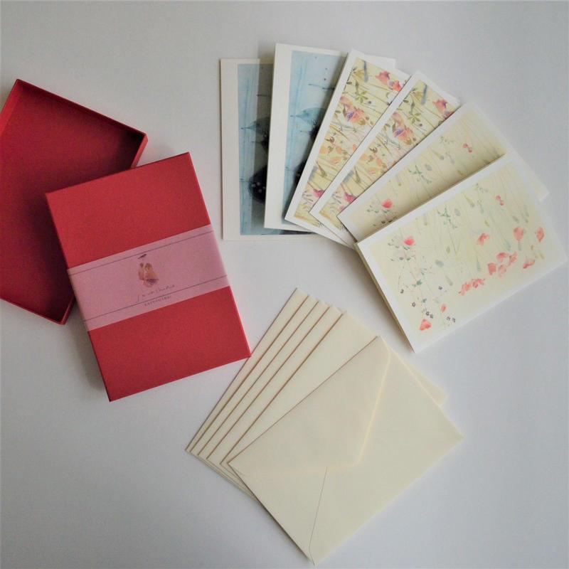 今井和世 グリーティングカード BOX 赤