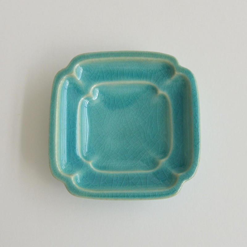 Awabi ware 四方豆皿 トルコ