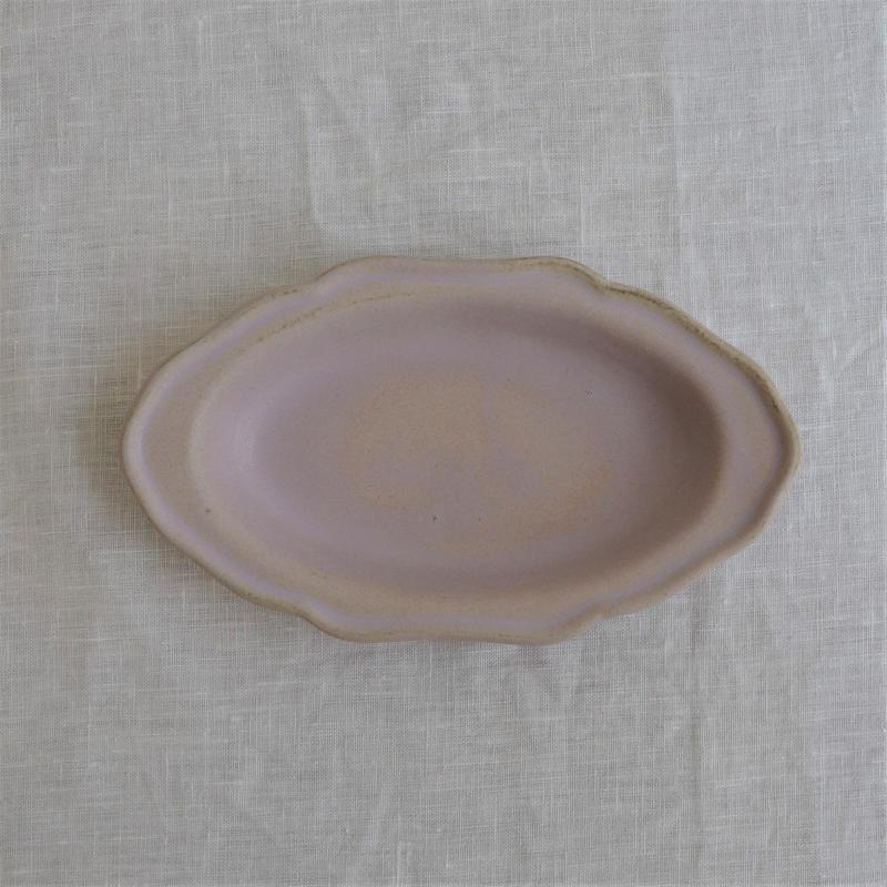 Awabi ware 耐熱グラタン皿  S パープル