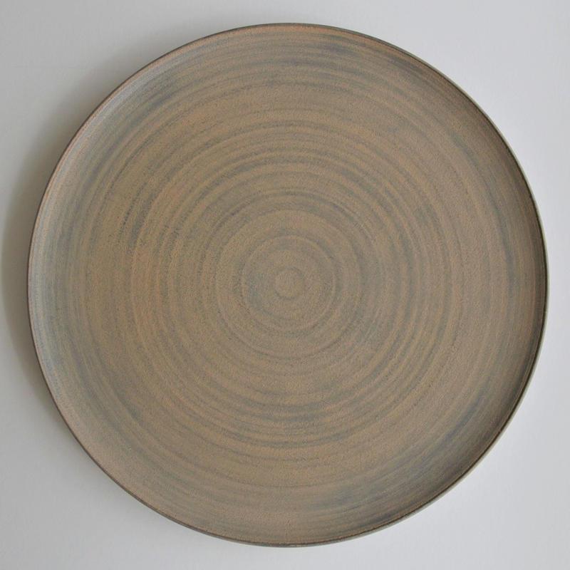 富井貴志 白漆丸皿 Φ240