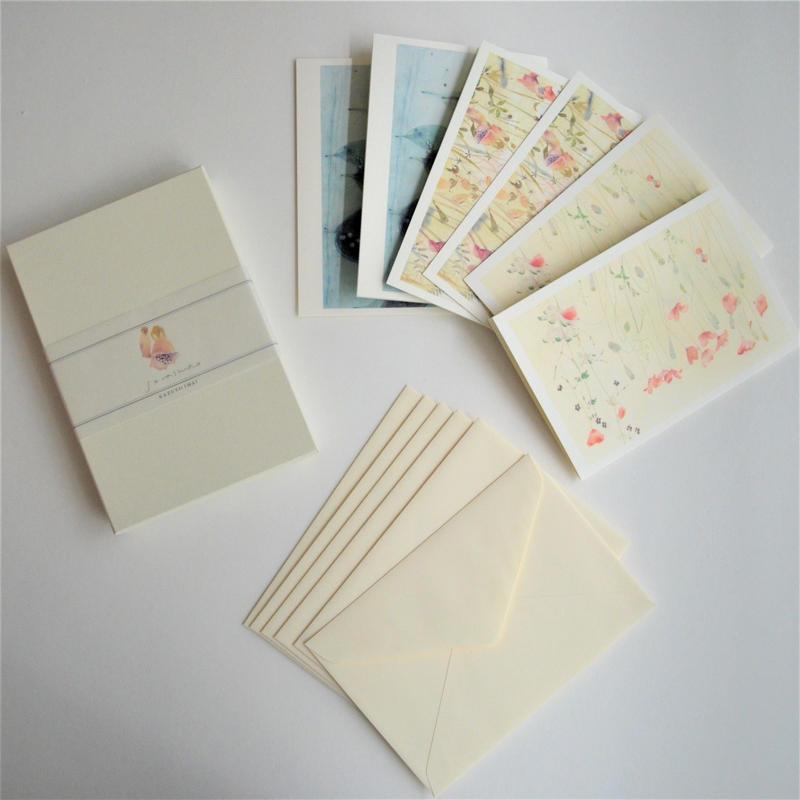 今井和世 グリーティングカード BOX 白
