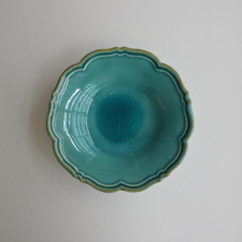 Awabi ware 輪花皿 s トルコ