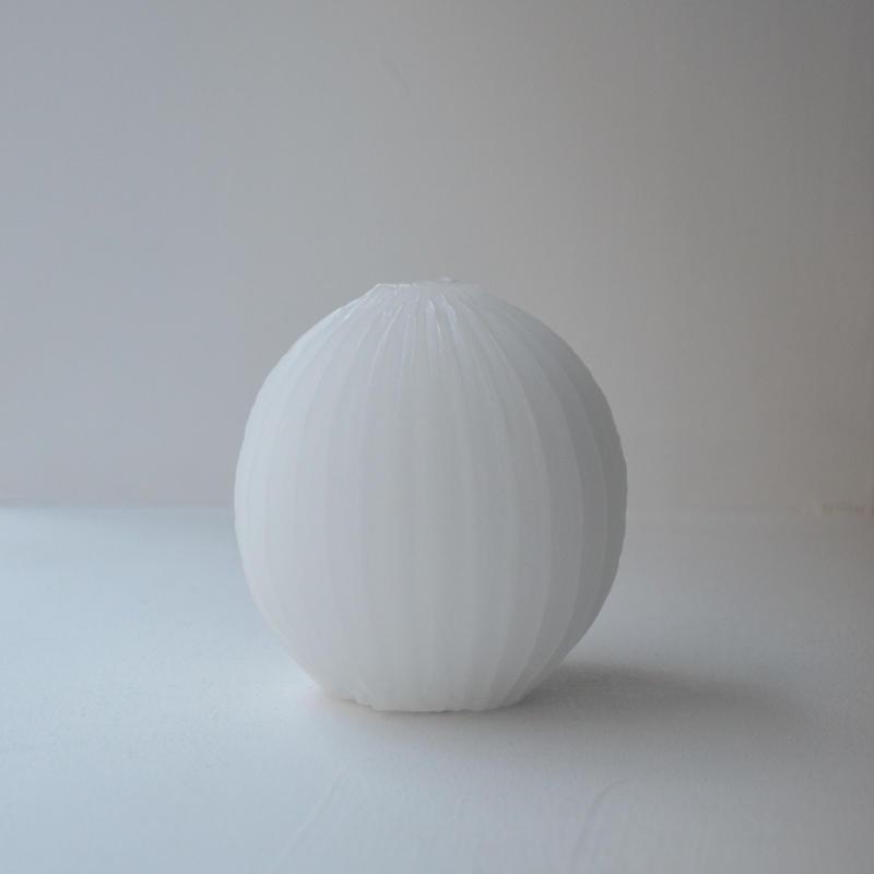 鈴木有紀子 ロウソク クリスタルボール white Forest