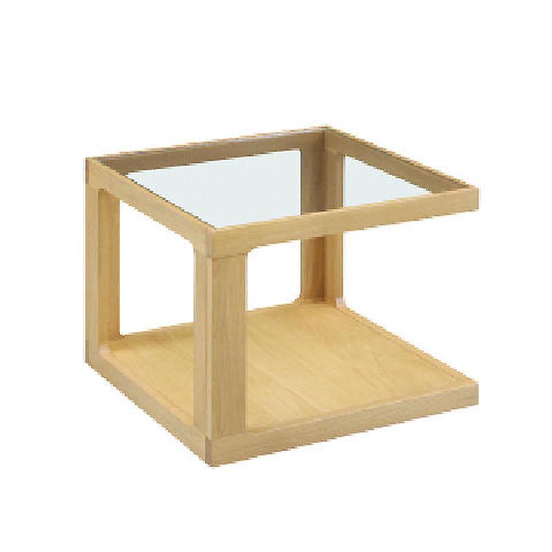 センターテーブル DUG ホワイトオーク無垢