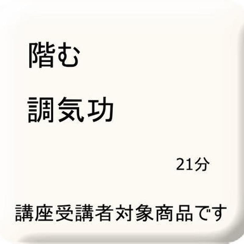 調気功(階む授訣)
