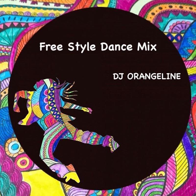 ORANGE LINE FREE STYLE MIX CD