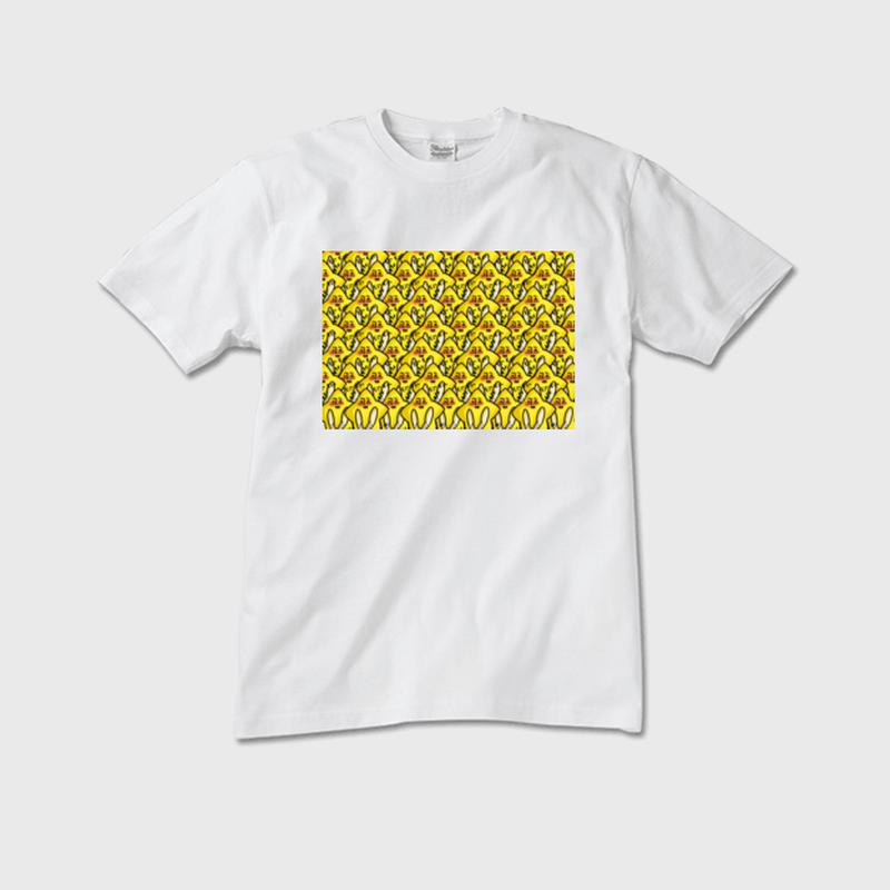 「テレぼしひこ」メンズTシャツ 白