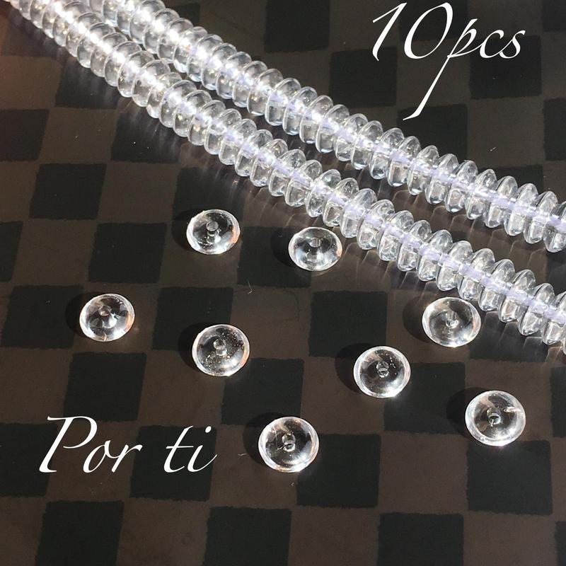 水晶AAAロンデル 6mm  10粒