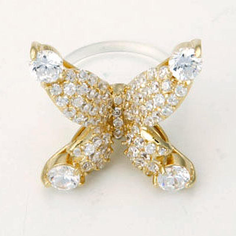 Papillon Floating ring-gold
