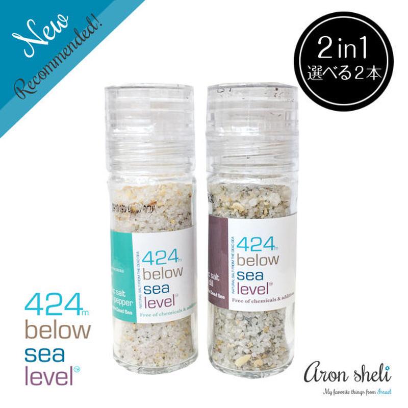 424 Below Sea Level Salt【選べる2本セット】