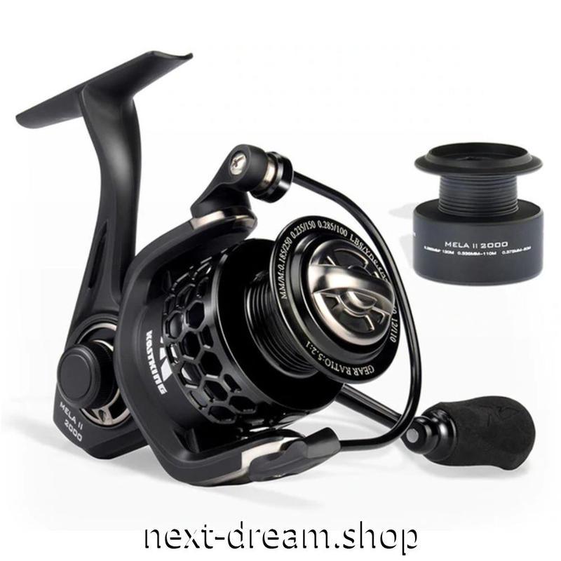 新品 リール 釣り道具 フィッシング カーボンファイバー スピニング 低音 高性能ベアリング 黒 1000 / 3000 /4000番 m01909